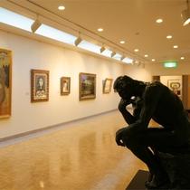 *【美術館(無料)】ピカソやミロなど各国著名作家の絵画、ロダンの彫刻など、幅広い作品を展示中です。