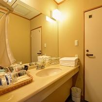 *【和室10~12畳(バスなし/洗面所付/洗浄機付トイレ)】アメニティも豊富にご用意しております。