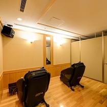 *【リフレッシュルーム】酸素濃度を1%程度濃くしたお部屋で、静かなBGMを聞きながらリラックス。
