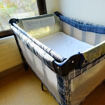 *【貸切風呂(家族風呂)事前予約制有料】ベビーベッド1台完備。ご家族様で是非ご利用下さいませ。
