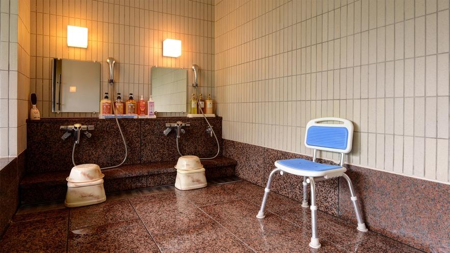 *【貸切風呂(家族風呂)事前予約制有料】カランは2名様分、浴槽は大人2~3名様のサイズとなります。