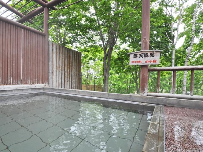 【温泉】湖が目の前に広がる眺めのよい露天風呂