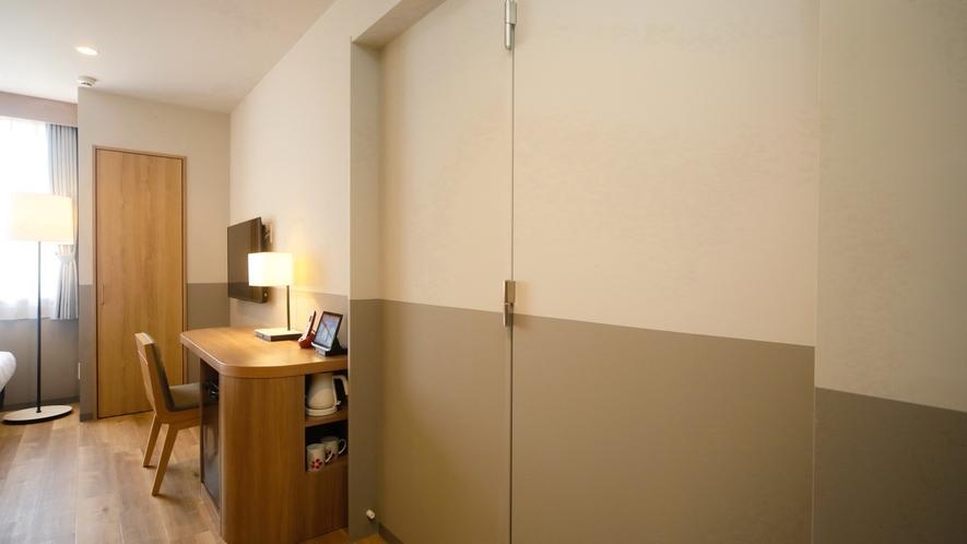 【サンセット館/コネクトルーム】隣接するツイン2部屋をご利用いただけます