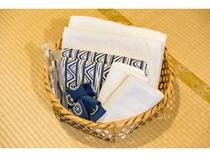 タオルとバスタオルと歯ブラシ