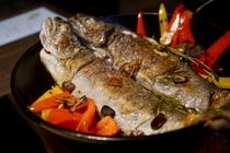 山女魚の香草焼(画像:お客様ご提供)