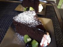 【デザート一例】自家製ガトーショコラ