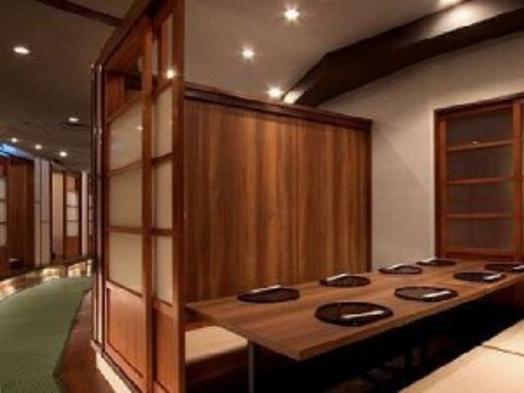 ウィングセレクト大阪梅田&『たなごころ』大阪マルビル店様コラボ 2食付きプラン(Aコース)