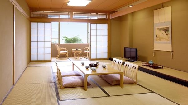 富山湾・富山平野が一望できる特別室【別館 豊翠閣】〜和室〜