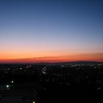 夕焼け空-。