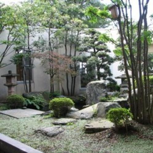 四季折々の顔を見せる中庭