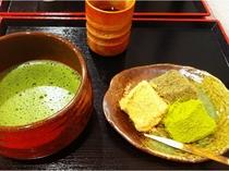 京都グルメ 抹茶&わらび餅(イメージ)