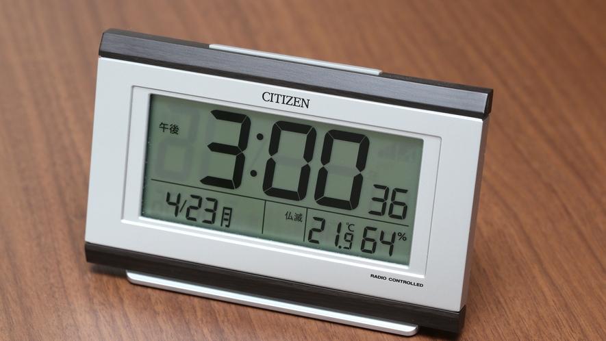 客室 目覚まし時計