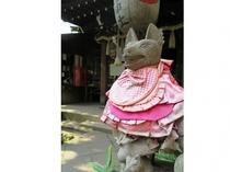 花園稲荷神社(ホテルより徒歩18分)