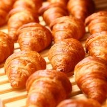 無料朝食~種類豊富な焼き立てパン