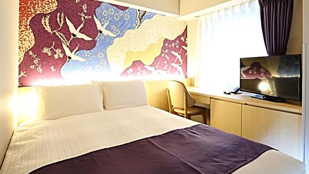 ダブル【15平米・ベッド幅140cm×1台】
