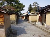 長町武家屋敷跡(金沢駅よりバス15分)