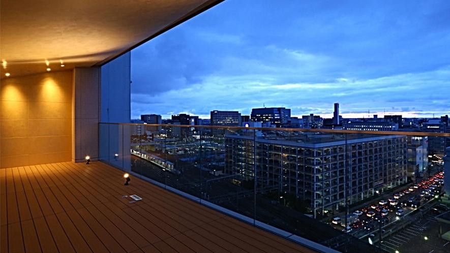 13階テラスからの眺め