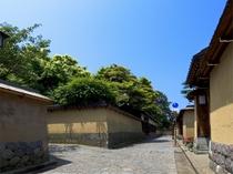 長町武家屋敷跡(金沢駅よりバス15分)【写真提供:金沢市】