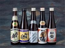 金沢グルメ 金沢の地酒(イメージ) 【写真提供:金沢市】