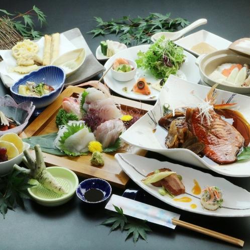 ライトプラン* 旬の食材を中心に創作アレンジした料理でご提供します!