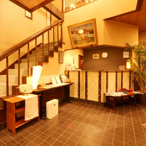 フロント* 「桜舞」は2016年5月デザイン温泉宿としてリニューアルオープン!
