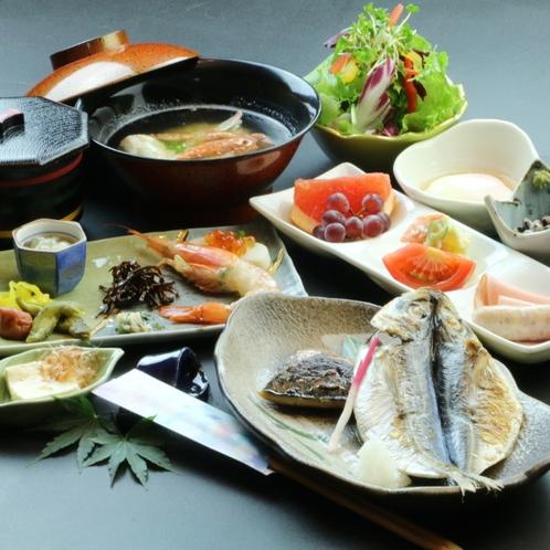 ご朝食* 伊豆高原の和朝食をお楽しみください ※画像は一例です