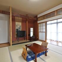 *[和室8畳一例]大きな窓から陽射しが差し込む明るく綺麗な和室。