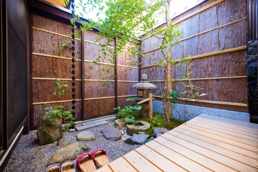 一日一組様限定、 プライベート空間を楽しめる一棟貸し宿泊施設