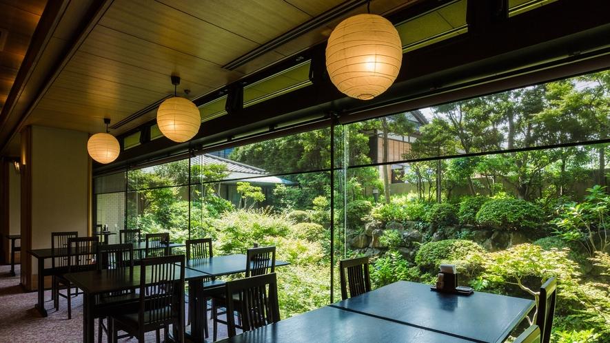 *【レストランあじさい】日本料理店のような雰囲気を味わえます