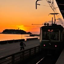 【江ノ島】ホテルから車で約20分