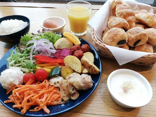 【毎日室数限定♪10%オフ】◇朝食付き◇ビュッフェスタイル◇朝から健康的な朝食を♪◇
