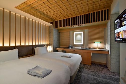 【12平米・禁煙】ツインルーム/120cm幅ベッド×2台