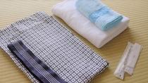 【客室】浴衣・タオル