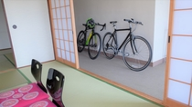 【客室】2間和室(6+10畳):太平洋を望むオーシャンビュー