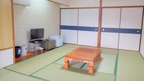 【客室】和室10畳:太平洋を望むオーシャンビュー(一例)