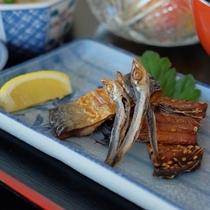 【朝食】 海の干物