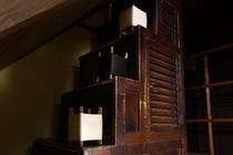 昔の棚階段