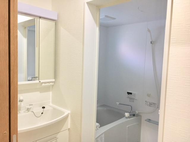 オーシャンビュールーム 浴室バルコニー