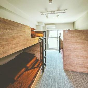 【禁煙】4人部屋 2段ベッド2台【お手軽団体旅行におすすめ】