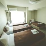 4人部屋シングルベッド4台