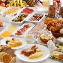 朝食ブッフェ ※イメージ