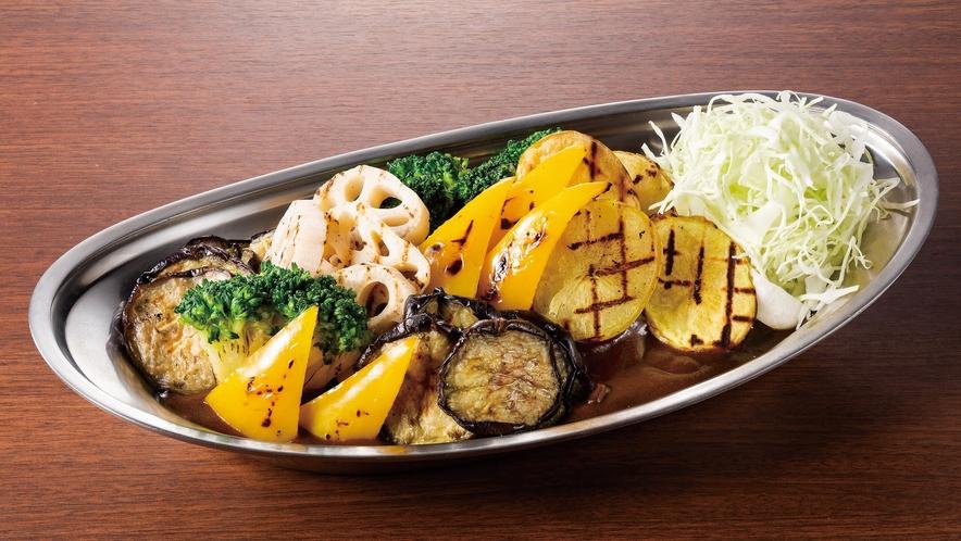 【NEW】焼き野菜社長カレー