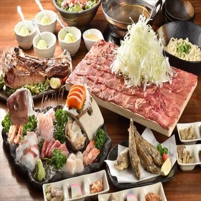◆提携飲食店で使える食事券2,000円分付◆いわきの美味しいオススメ店で満腹プラン♪朝食付き★