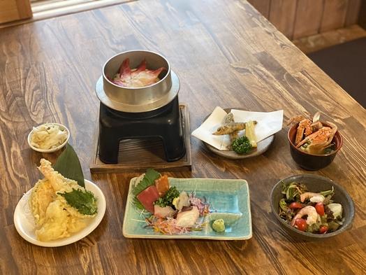 2食付【梅コース】夕食は≪海鮮居酒屋五楽≫地元オススメ店でお腹いっぱい満足プラン♪