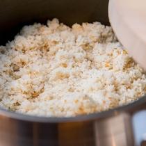 炊き立て五穀米
