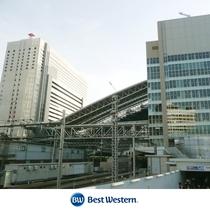 大阪駅からJRで1駅