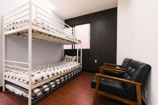 2人用2段BED部屋