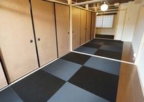 10名定員の広い寝室