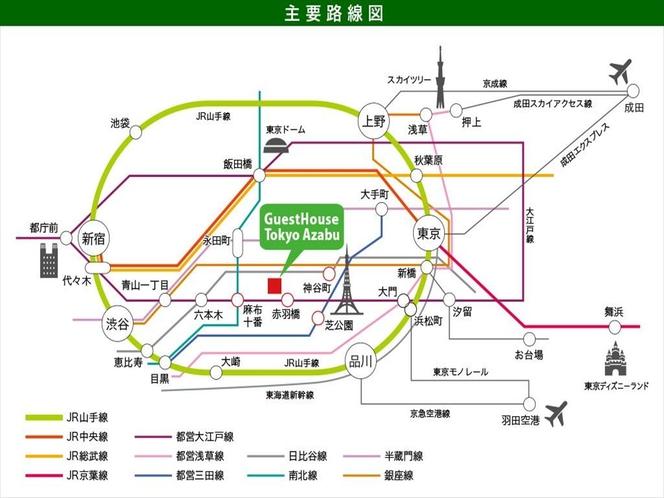 ルートマップ・日本語