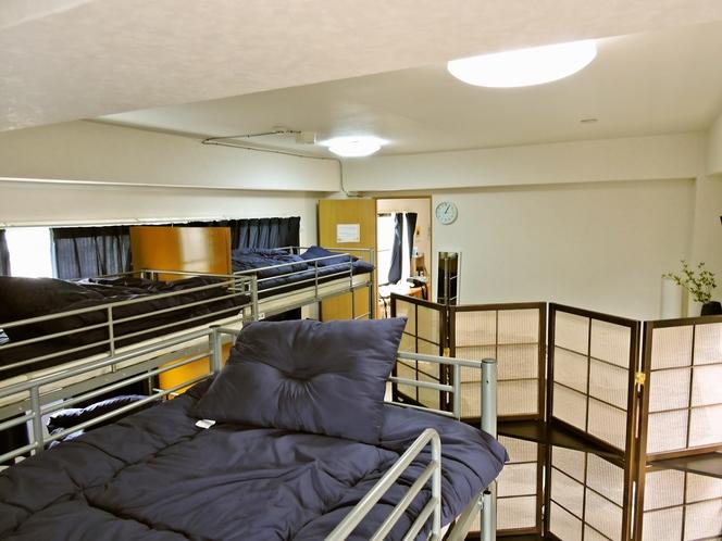 客室1二段ベッド